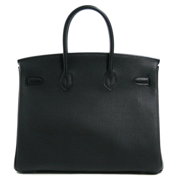 Hermès Black Togo 35 cm Birkin Bag with Gold Hardware 3