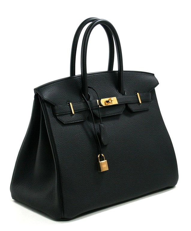Hermès Black Togo 35 cm Birkin Bag with Gold Hardware 4
