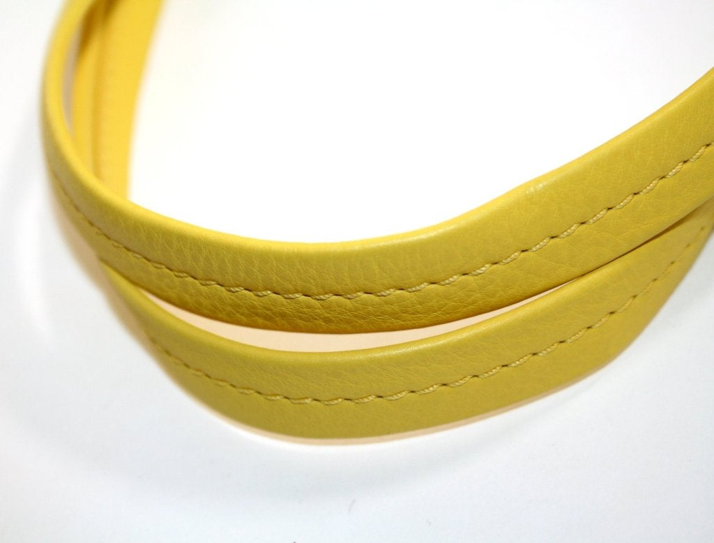 Celine Yellow Leather Cabas Phantom Large Tote 6