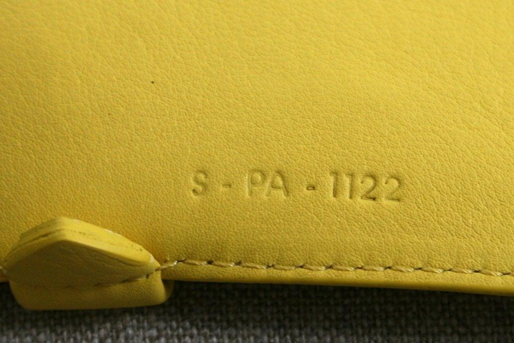 Celine Yellow Leather Cabas Phantom Large Tote 9