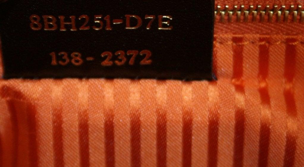 Fendi Orange Leather 2jours Large Shopper 7