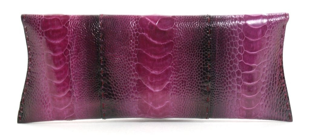 Vbh Purple-Ostrich Leg Clutch 3