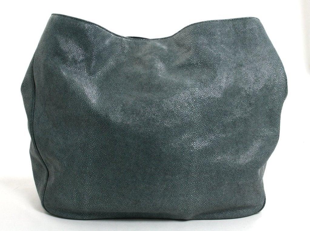 Yves Saint Laurent Stingray Embossed Leather Roady at 1stdibs