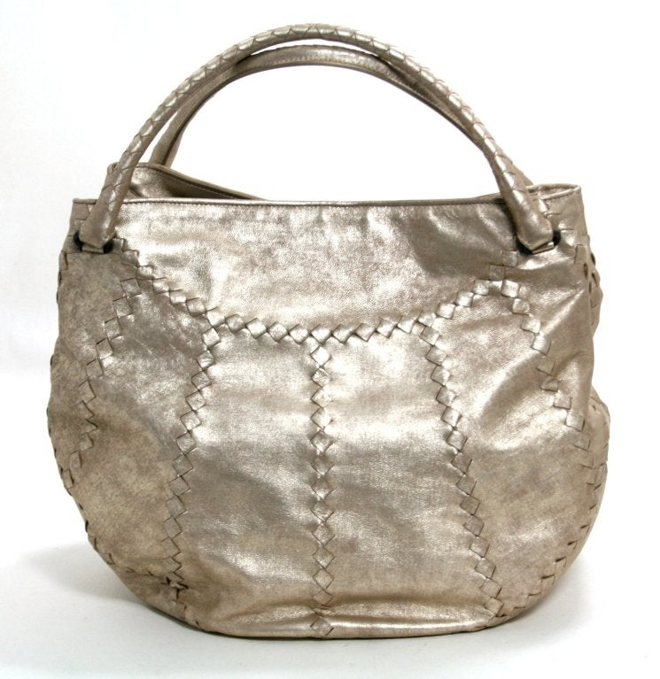Bottega Veneta Metallic Mineral Hobo 3