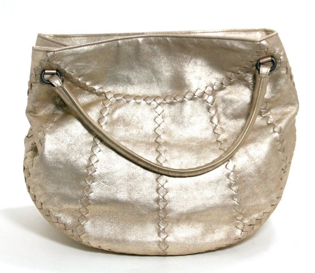 Bottega Veneta Metallic Mineral Hobo 4