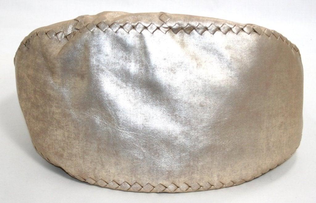 Bottega Veneta Metallic Mineral Hobo 6