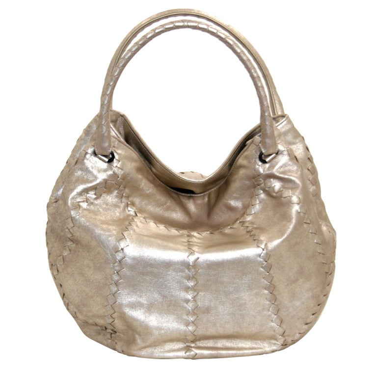 Bottega Veneta Metallic Mineral Hobo 1