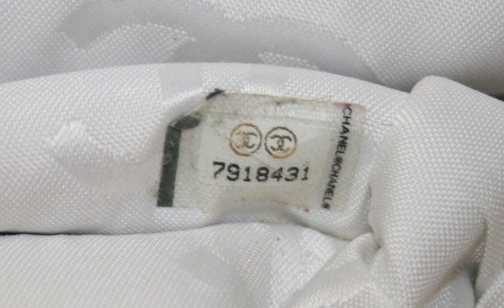 Chanel Vintage Cream Caviar Leather Tote 8