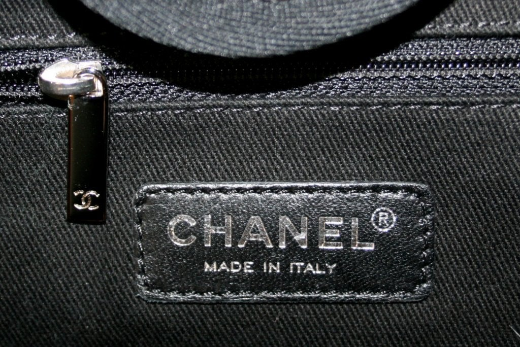 Chanel Tan Canvas XL Cambon Tote 9