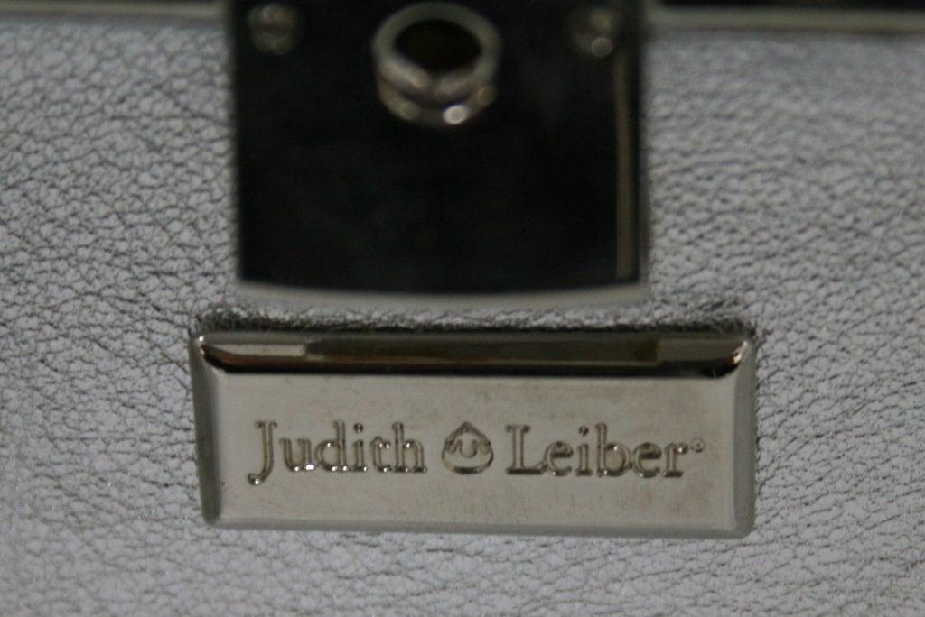 Judith Leiber Silver Crystal Clutch 8