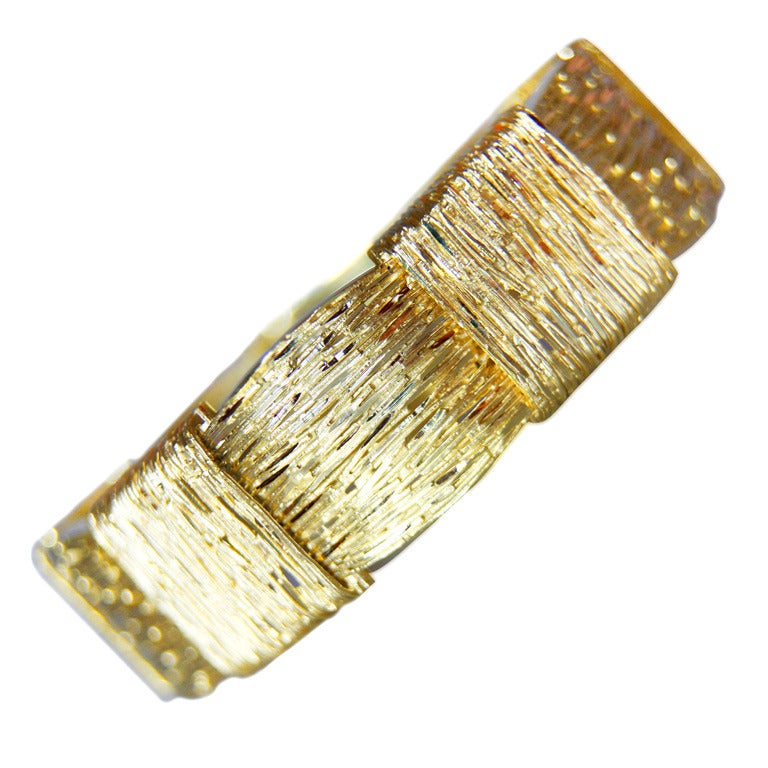 Cartier 18 Karat Yellow Gold Bracelet For Sale