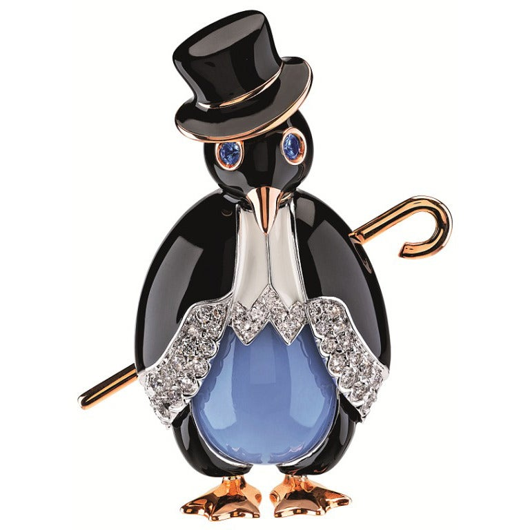 alena brooch shop online shipping penguin on kochenkova shopping item with jewelry livemaster my