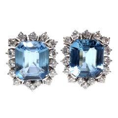 Friedrich Snowdrop Diamond Earclips At 1stdibs
