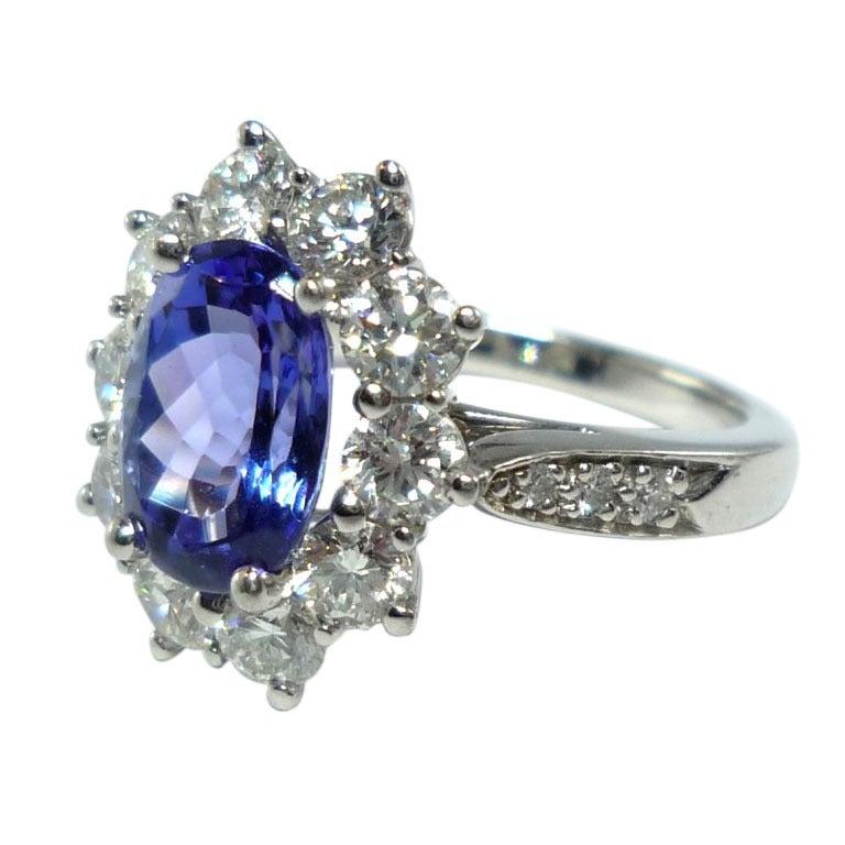 tanzanite engagement rings tiffany - 768×768