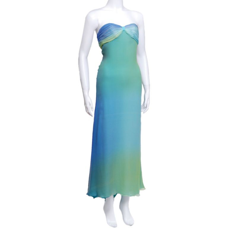 Halston Ombre Gown 2
