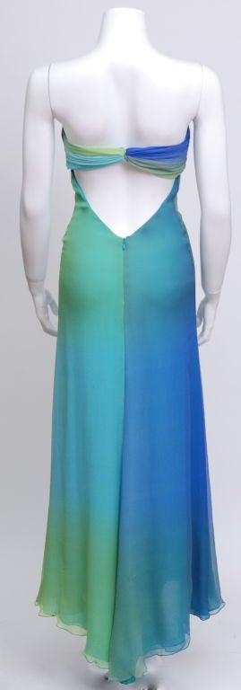Halston Ombre Gown 3