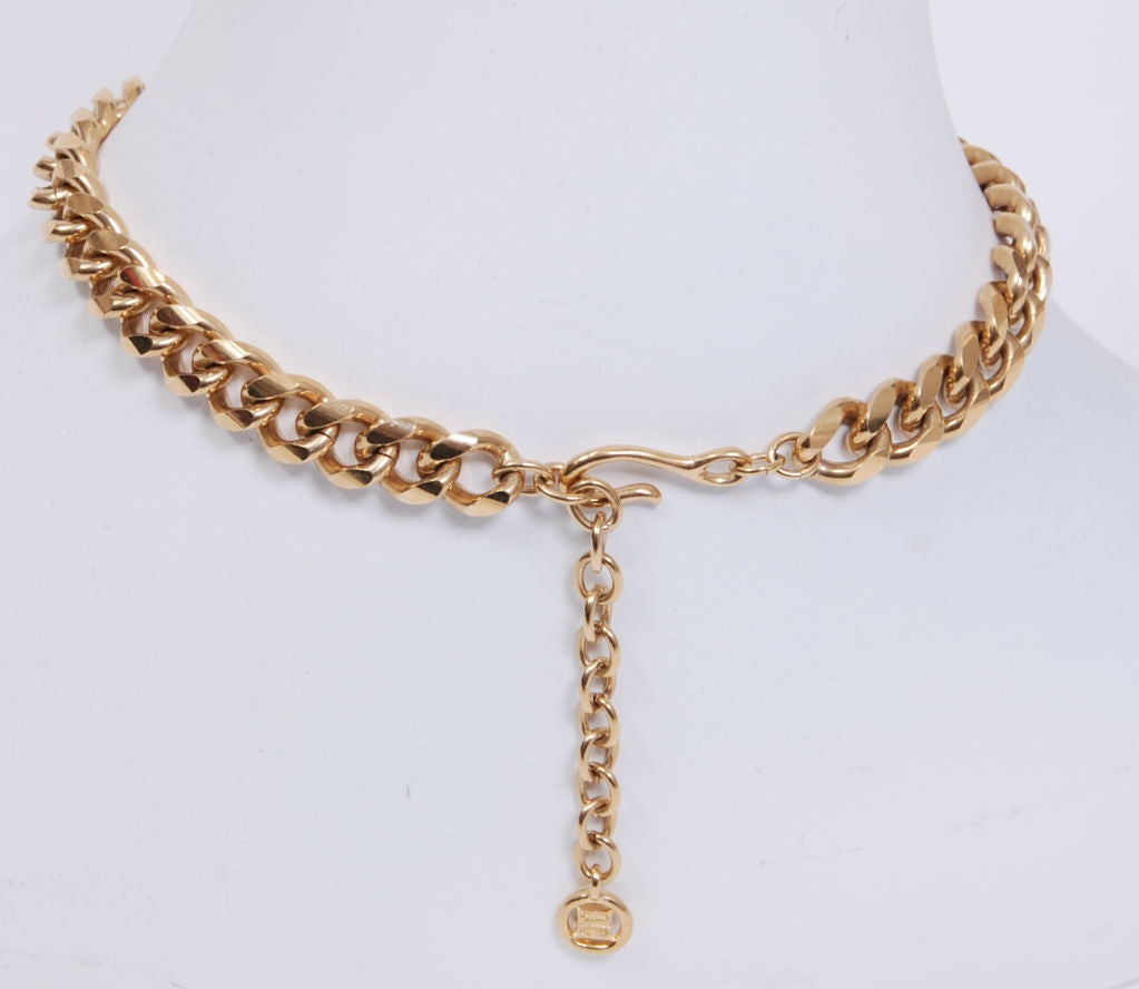 Givenchy Gold Chain Necklace 3