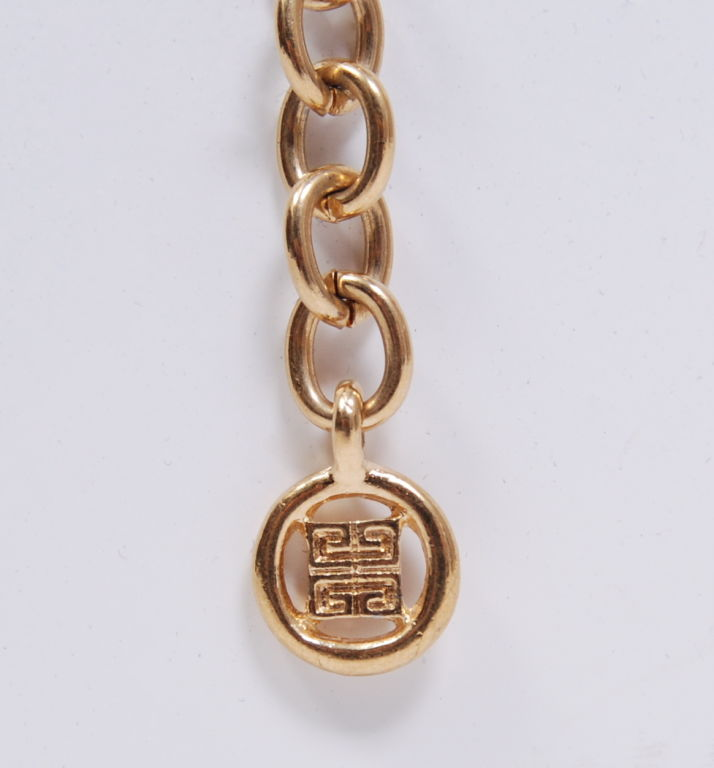 Givenchy Gold Chain Necklace 4