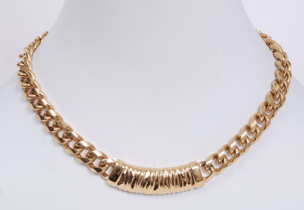 Givenchy Gold Chain Necklace 5
