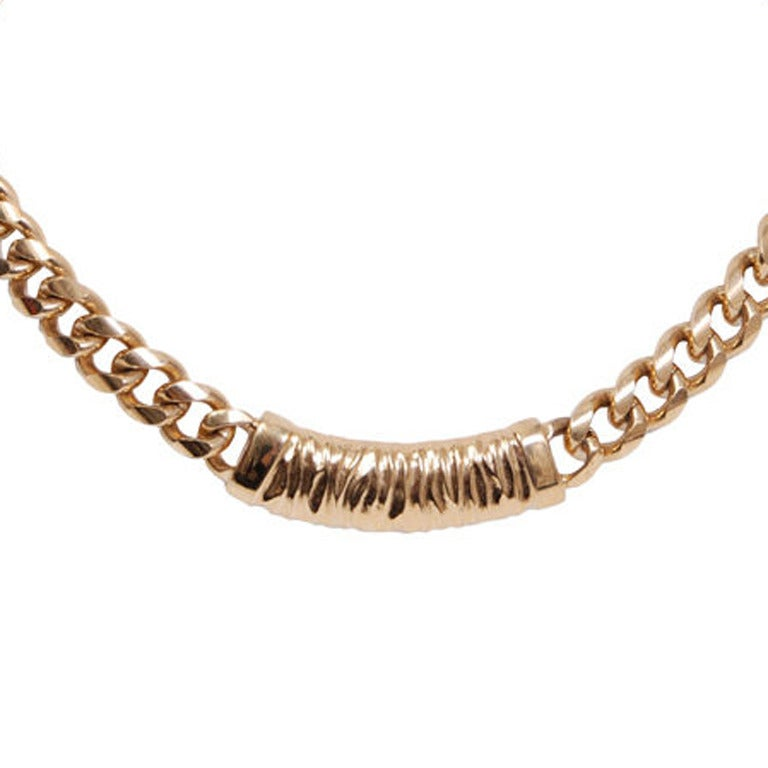 Givenchy Gold Chain Necklace 2
