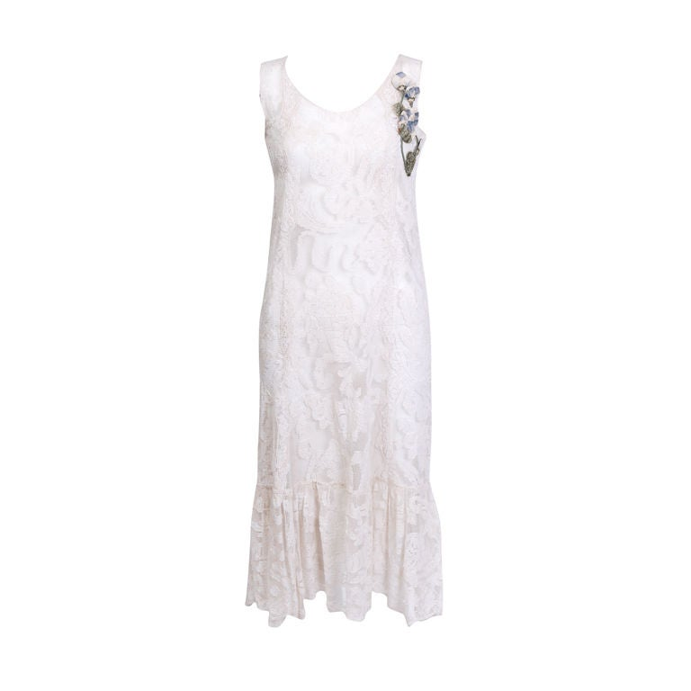 Embroidered Lace Dress 1