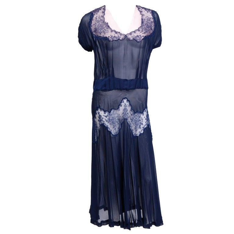 Debbie Harry Vintage Collection Sheer 30's Dress 1
