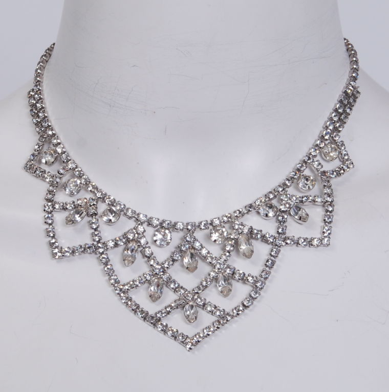 Kramer Rhinestone Necklace 2