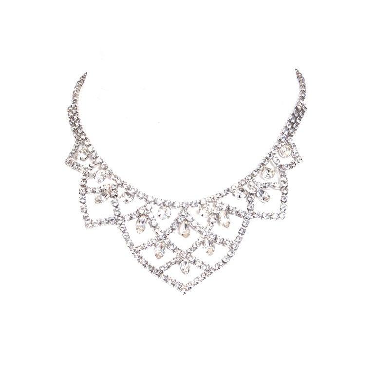 Kramer Rhinestone Necklace 1