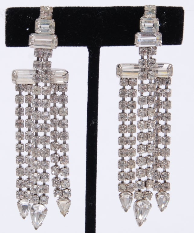Rhinestone Earrings Worn By Katy Perry in Interview Magazine image 2