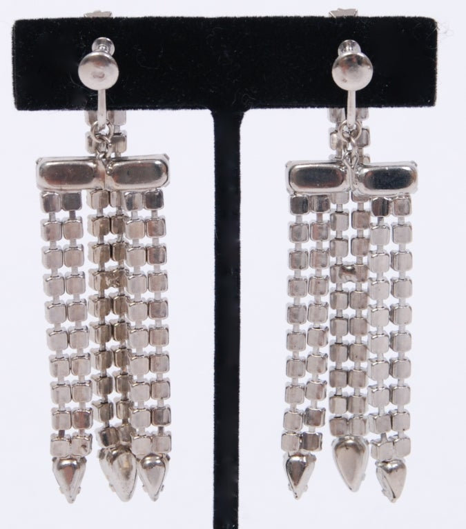 Rhinestone Earrings Worn By Katy Perry in Interview Magazine image 3