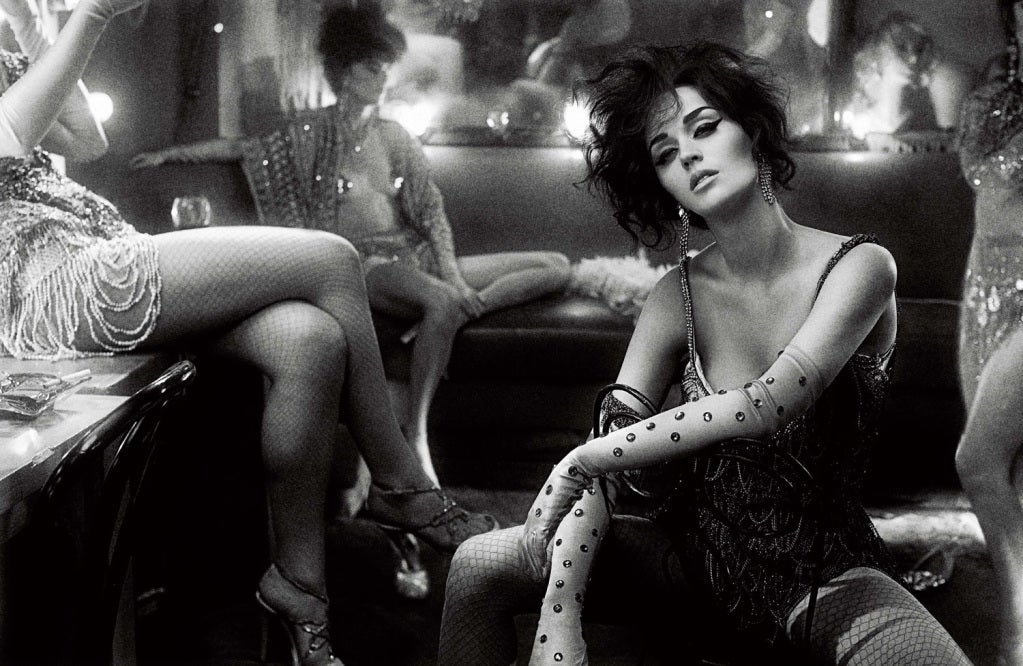 Rhinestone Earrings Worn By Katy Perry in Interview Magazine image 4
