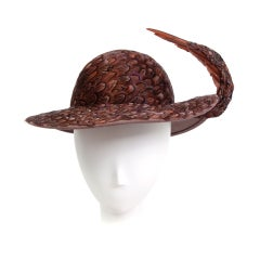 Jack McConnell Feather Hat
