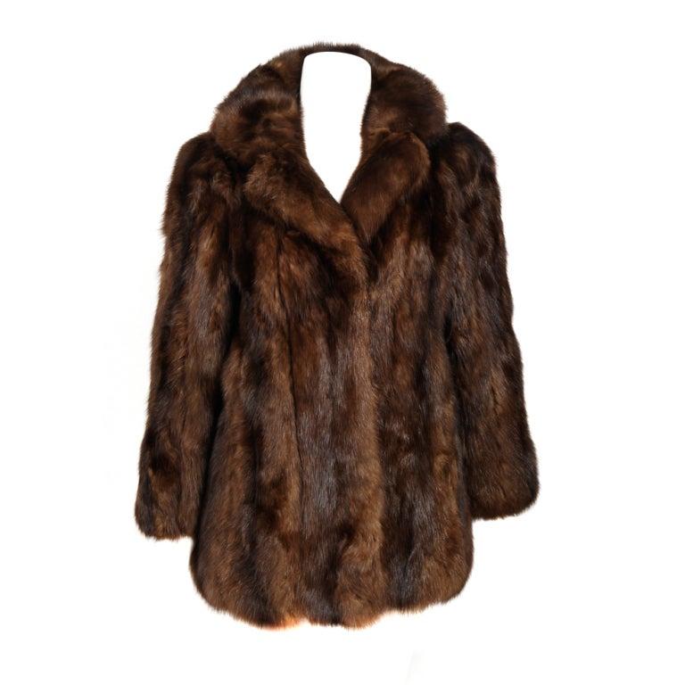 Russian Sable Coat at 1stdibs
