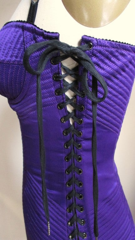 Dolce & Gabbana Corset Dress With Side Lacing 5