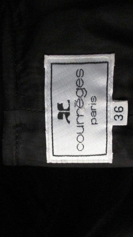 1960s Courreges Cutouts Dress For Sale 4
