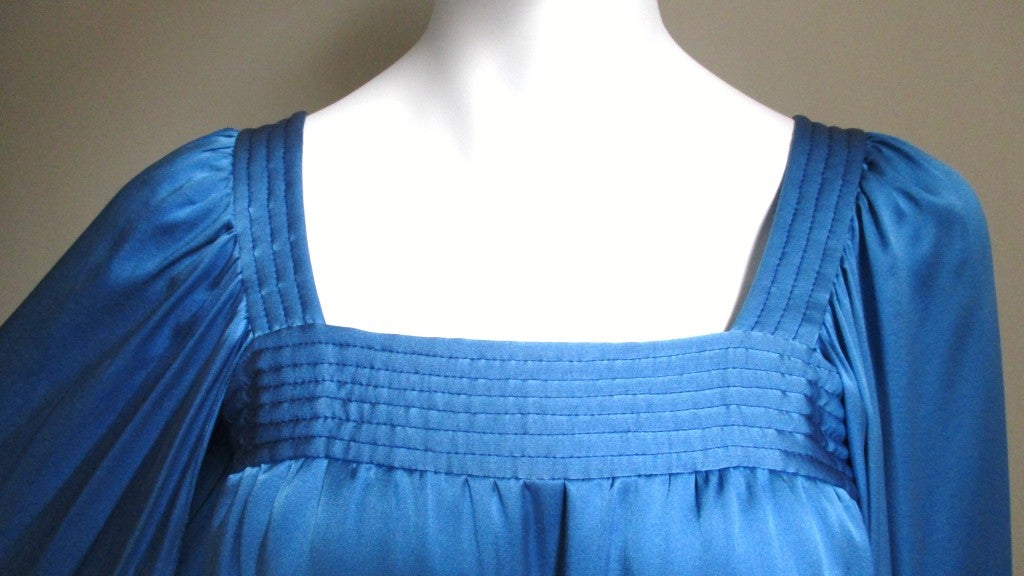 1970's Christian Dior Couture Numbered Dress In Excellent Condition For Sale In New York, NY