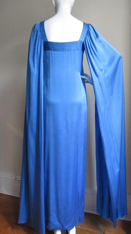 1970's Christian Dior Couture Numbered Dress For Sale 1