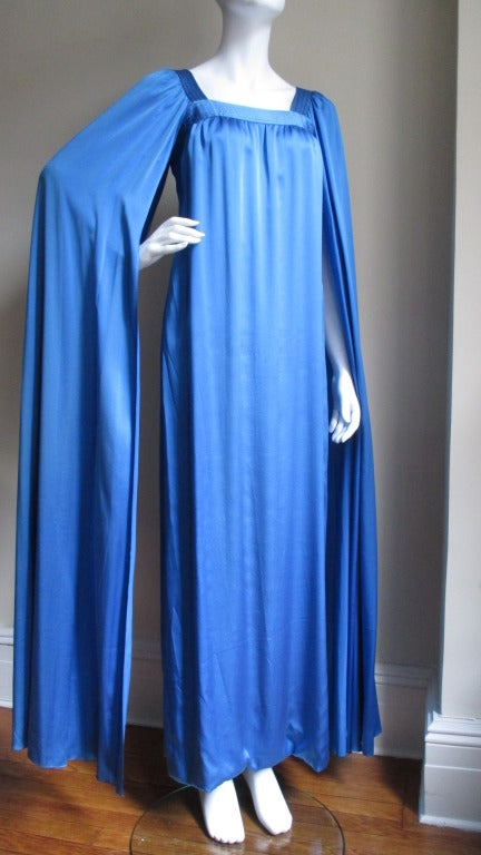 1970's Christian Dior Couture Numbered Dress For Sale 4