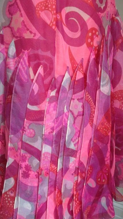 1960's Pierre Cardin Couture Hem W Scarves Maxi 7