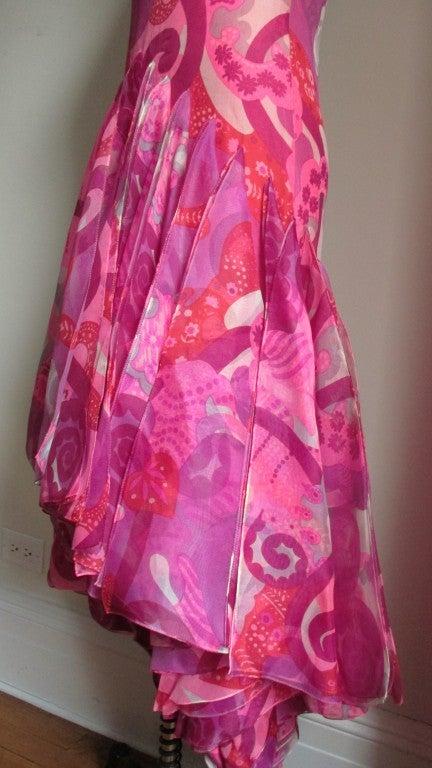1960's Pierre Cardin Couture Hem W Scarves Maxi 8