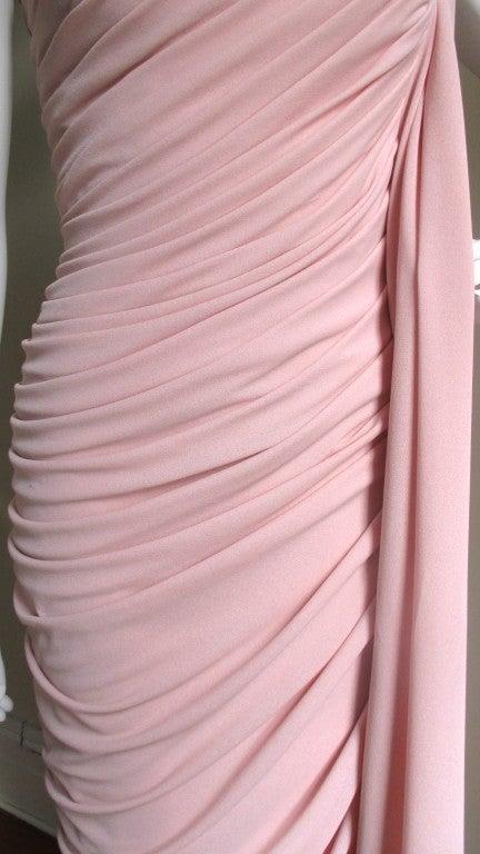 Estevez Vintage Glamour One Shoulder Gown 4