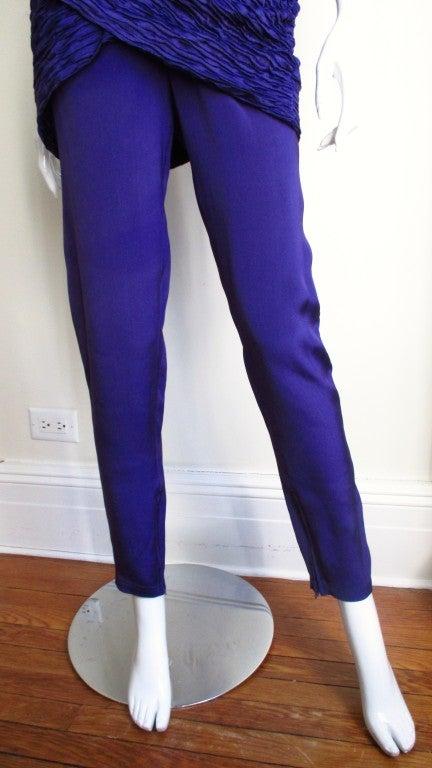 1980's Gianni Versace Silk Corset Jumpsuit 5