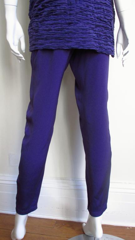 1980's Gianni Versace Silk Corset Jumpsuit 8