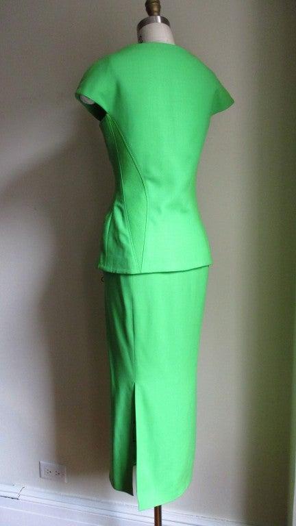 Women's Vintage Versace Bustier Corset Jacket & Skirt For Sale