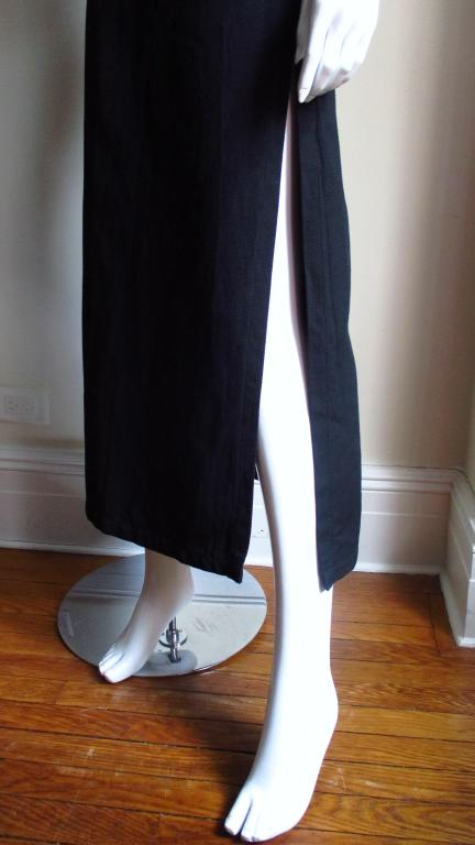 Vintage Courreges Cage Sides Maxi In Excellent Condition For Sale In New York, NY