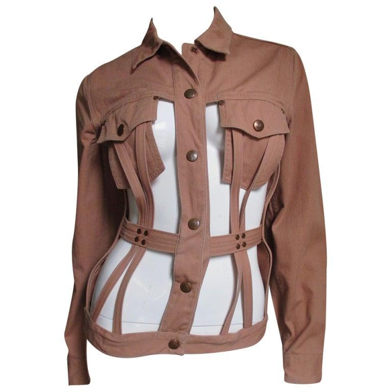 Vintage Junior Gaultier Cage Jacket