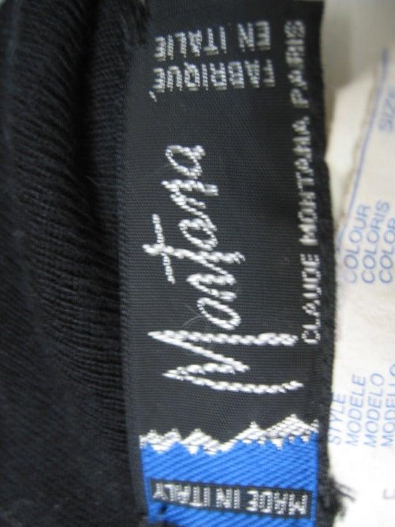 1980's Claude Montana Shorts Jumpsuit For Sale 3