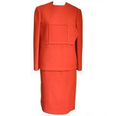 1960's Geoffrey Beene Mod Skirt & Tunic