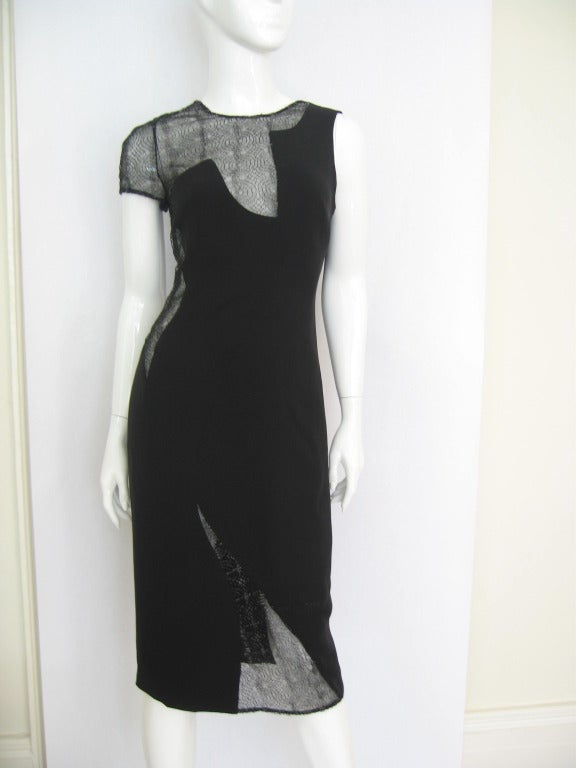 Gianni Versace Couture Assymetric One Sleeve Dress with Cutouts image 2