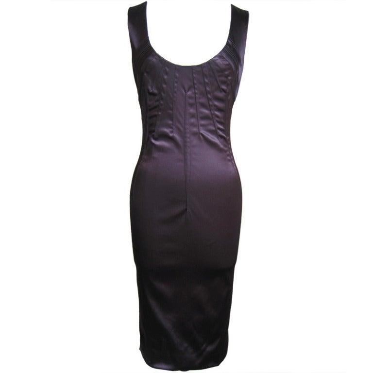 1990s Dolce & Gabbana Dart Detail Dress
